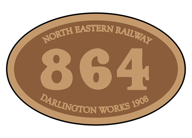 North Eastern Railway number plates