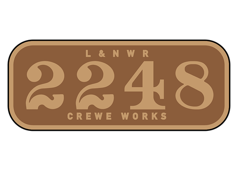London & North Western Railway number plates