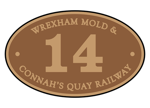 Wrexham, Mold & Connah's Quay Railway number plates