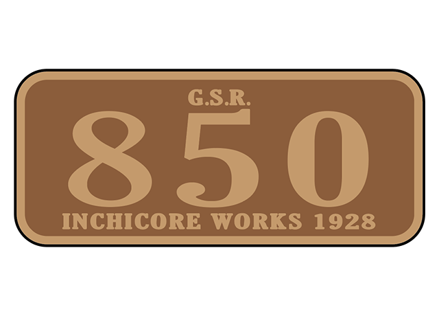 Great Southern Railway (Ireland) number plates