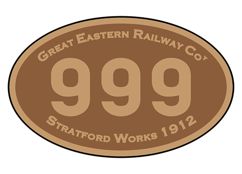 Great Eastern Railway number plates