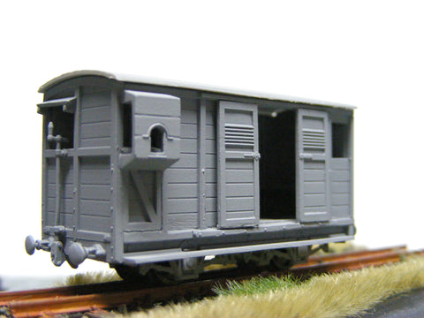 Talyllyn Railway guard's brake and luggage van Nº5
