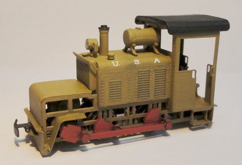 Baldwin 50HP 'Gas Mechanical' 0-4-0 I/C Tractor