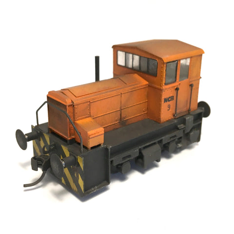 Hibberd Planet (shunter step)