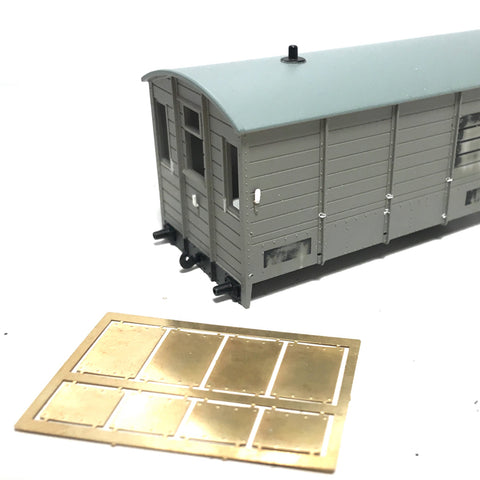 GWR AA3 brake van end panels