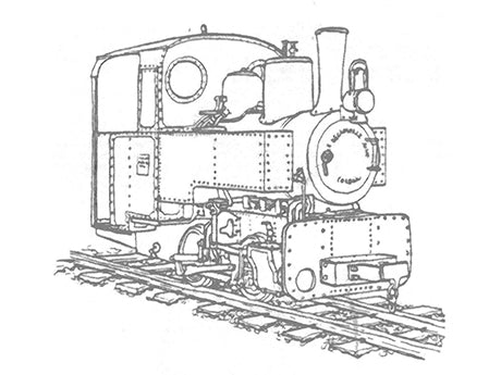 Decauville 6.5 tonnes 0-4-0 Loco Kit