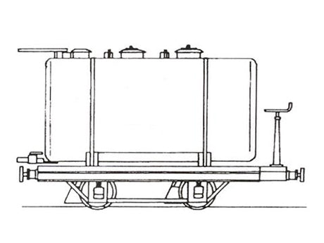 Snailbeach District Railways tank wagon (Bagtank)
