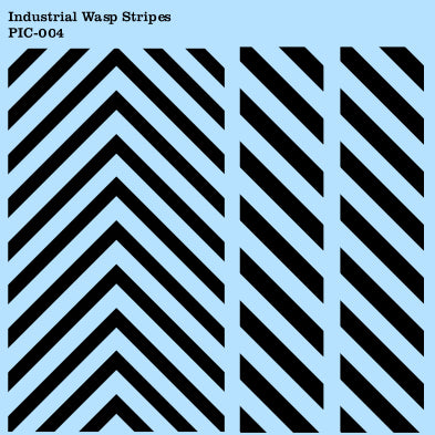 Industrial Transfers - Wasp striping