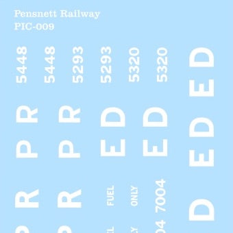 Pensnett Railway Markings