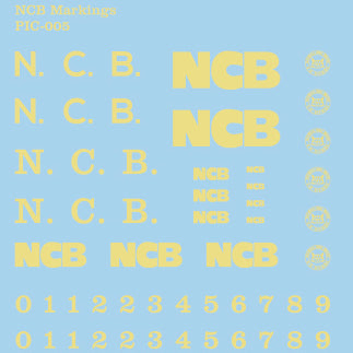 Industrial Transfers - Yellow NCB