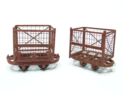 Peat wagons (2 pack)