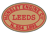 Hunslet works plates (quarry style)