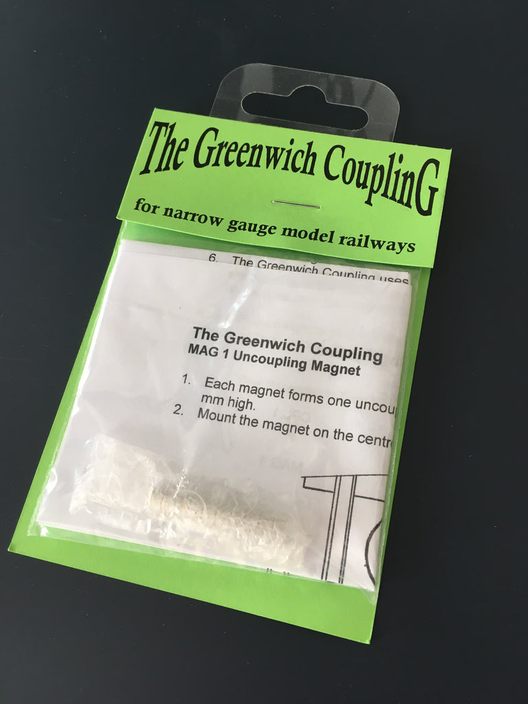 Greenwich coupling magnets
