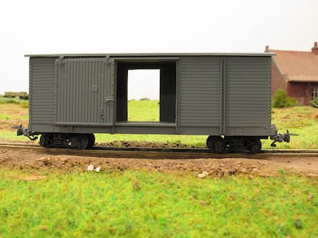 Pershing Box car