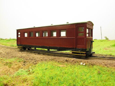 Ashover Light Railway Gloucester bogie coach Nos. 1-4