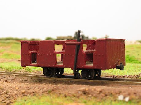 Penrhyn Quarry Railway 4 wheel workman's open coach