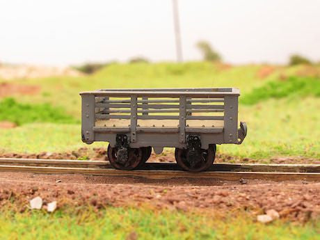 Penrhyn Quarry Railway De Winton slate wagon