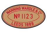 Manning-Wardle works plates (engraved)