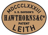Hawthorns & Co works plates (Roman numeral style)