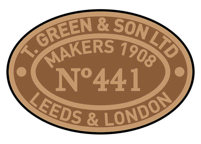 Thomas Green works plates
