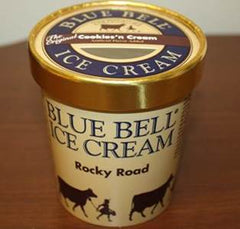 Blue Bell Ice Cream Rocky Road Pints recall