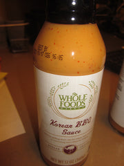 Whole Foods Korean BBQ Sauce