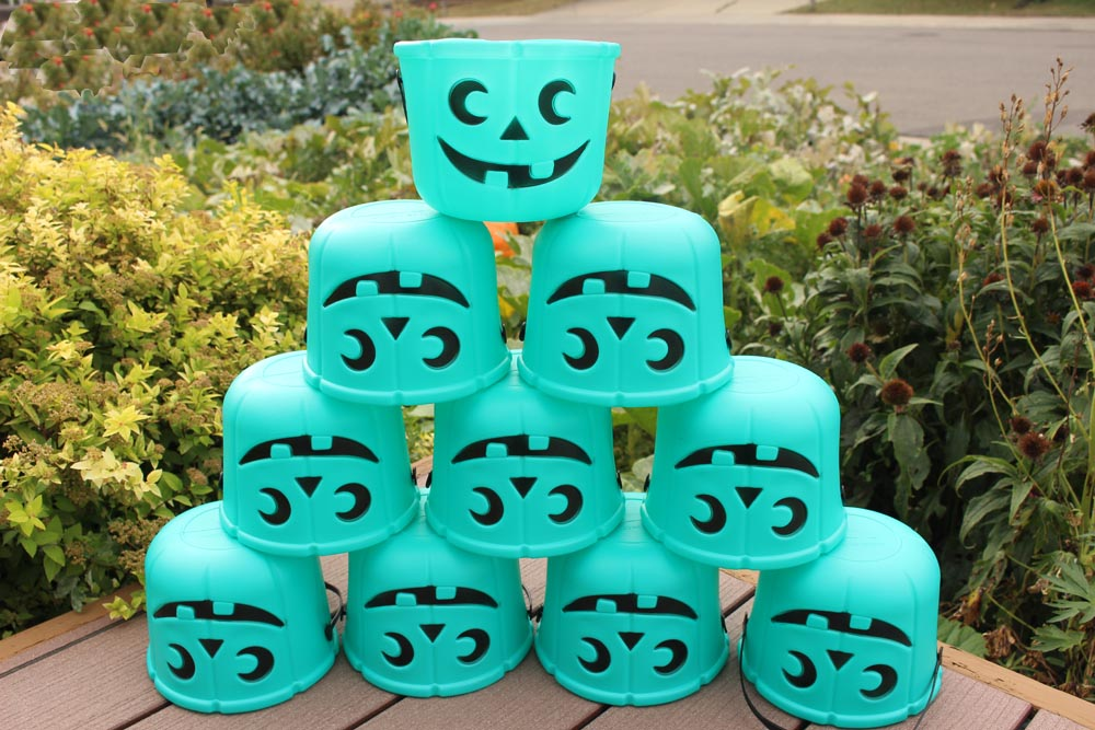 Teal Pumpkin Candy Bucket Bulk Packs by food Allergy Superheroes.