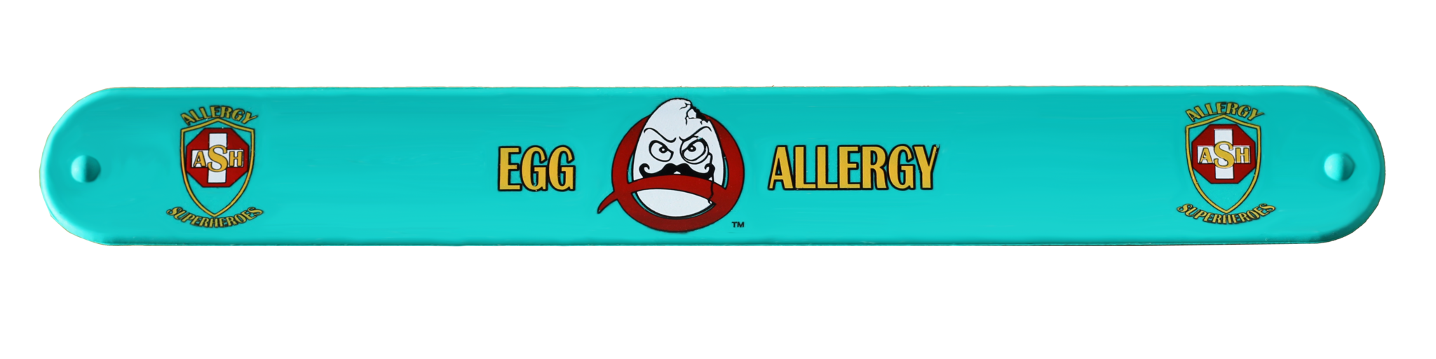 Egg Allergy Superhero Slap Bracelet Allergy Superheroes