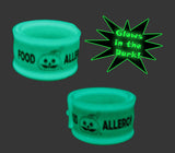 Teal Pumpkin Glow-in-the-Dark Food Allergy Slap Bracelet