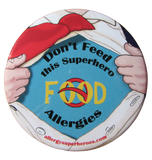 Multiple or Other Allergy Superhero Boy Button