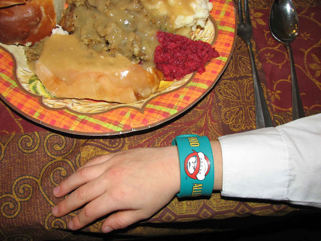 Food Allergy Superhero Slap Bracelet Allergy Superheroes