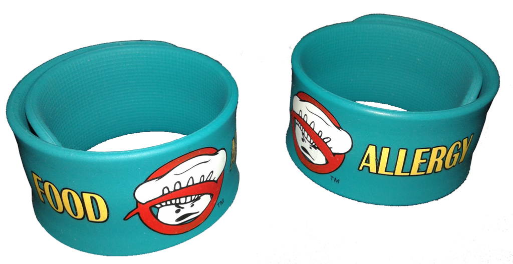 Chef Cross Food Allergy Superhero Slap Bracelet by Allergy Superheroes