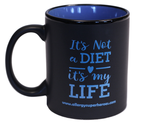 """It's Not A Diet It's My Life"" (TM) Coffee Mug"
