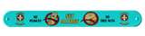 Nut Allergy Superhero Slap Bracelet