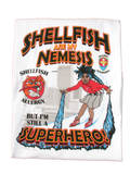 Shellfish Allergy T-Shirt Superhero Arctic Storm