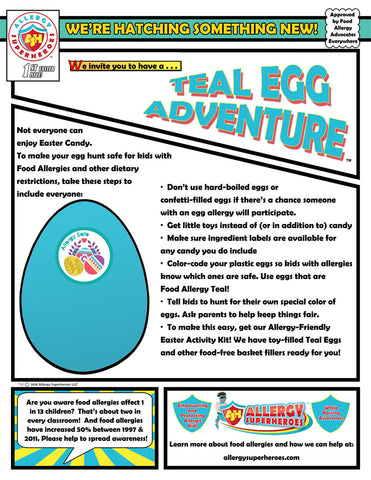 Teal Egg Adventure