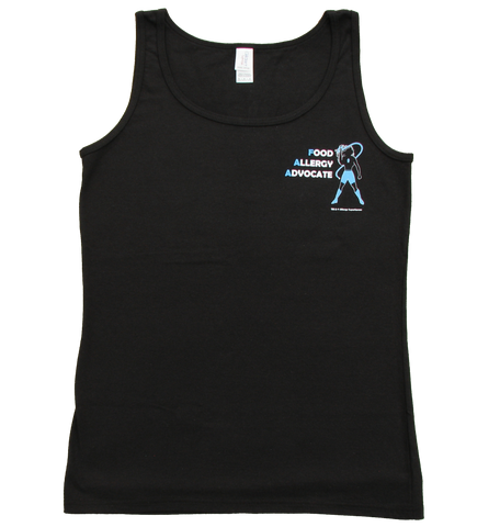 Food Allergy Advocate Women's Tank by Allergy Superheroes