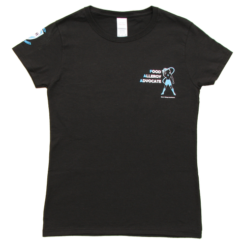 Food Allergy Advocate Women's Tee by Allergy Superheroes