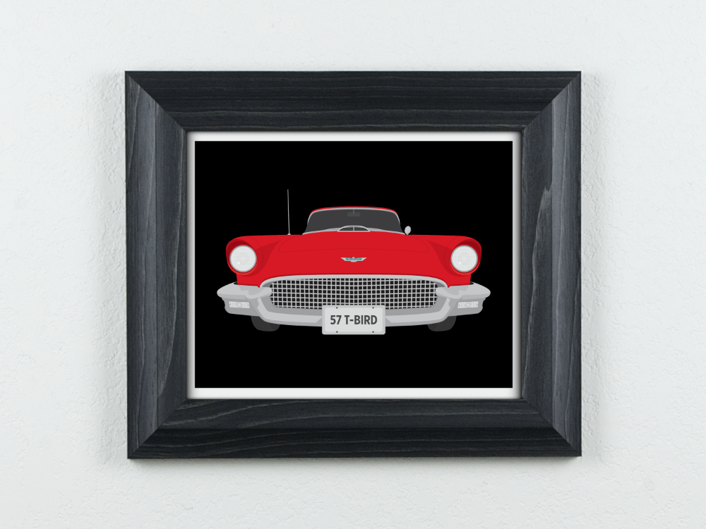 1957 Ford Thunderbird Art Print