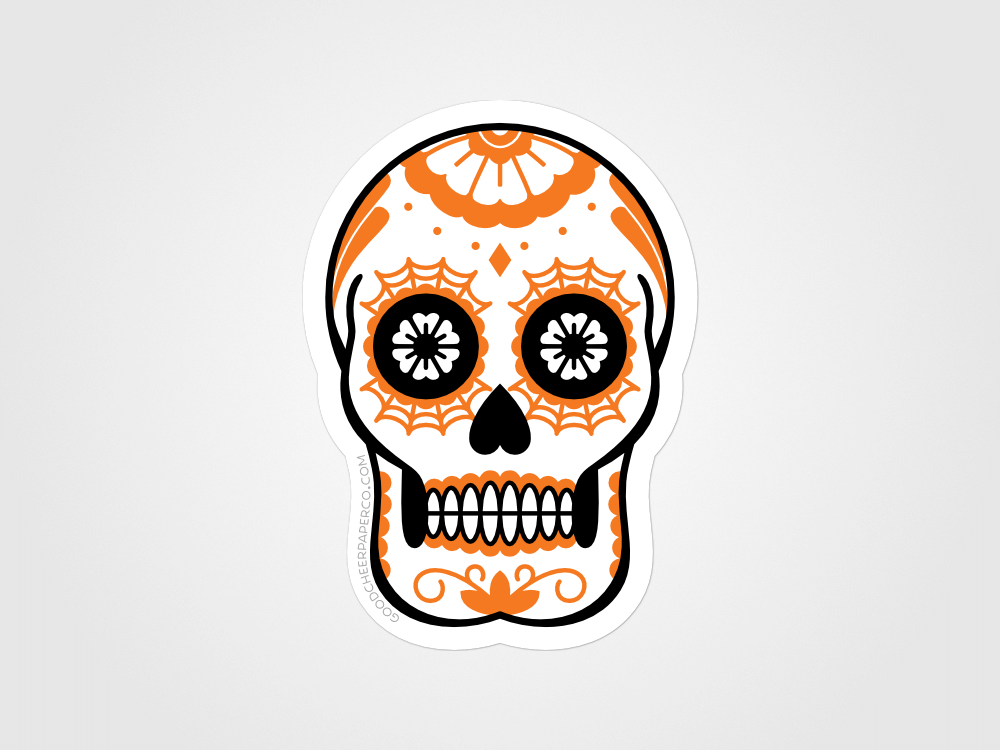 Calavera Sticker | Good Cheer Paper Co