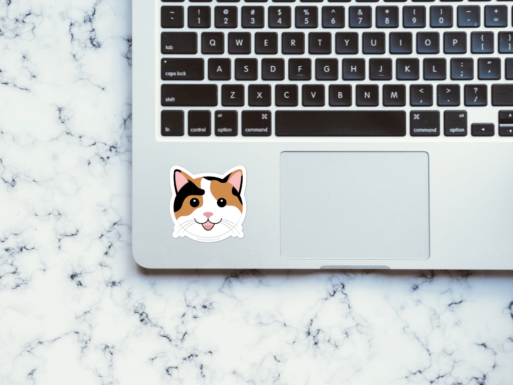Calico Cat Sticker | Good Cheer Paper Co
