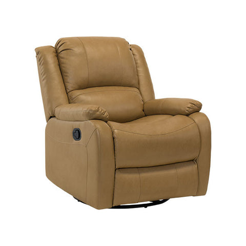 "30"" Swivel Glider RV Recliner Chair Toffee"