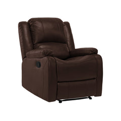 "RecPro Charles 30"" RV Zero Wall Recliner Chair Mahogany"