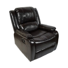 "RecPro Charles 30"" RV Zero Wall Recliner Chair Espresso"