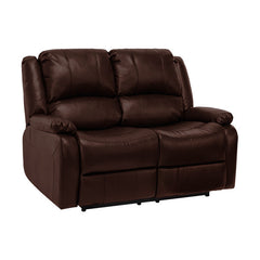 RV Double Recliner in Mahogany