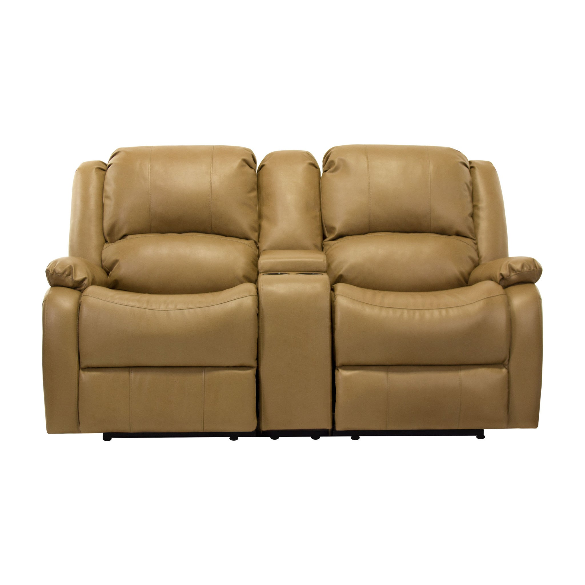 ... RecPro Charles 67\  Double RV Wall Hugger Recliner Sofa w/ Console Toffee (Available ...  sc 1 st  RestoreRV.com : rv double recliner - islam-shia.org