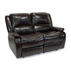 "58"" Double Recliner Loveseat"