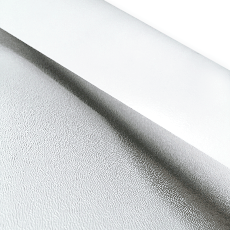 SuperFlex White RV Rubber Roofing Close Up