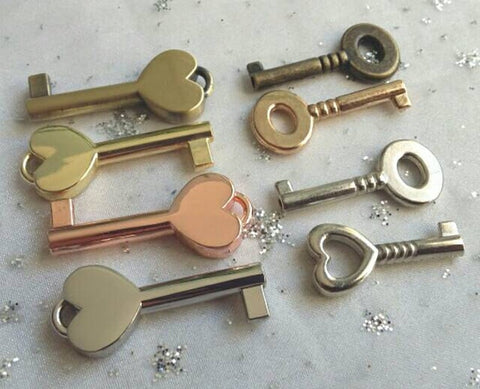 Additional Key for lockable padlocks - GiftedinDesign