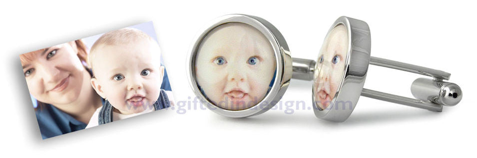 Personalised Photo Cufflinks